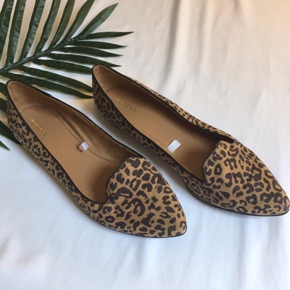 8716545b2cd NWOT Merona Target Leopard Print Loafer Flats. M 5b7dfb452830957593c63eb7
